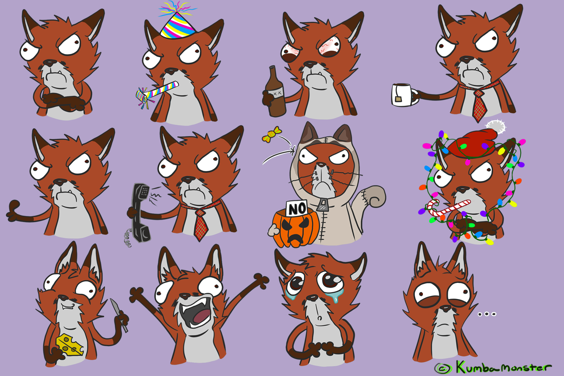 fox-sticker-compilation-x2